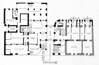 Okresní nemocenská pojišťovna v Mladé Boleslavi - 1NP - foto: archiv redakce