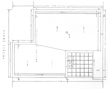 Vila pod Wilsonovým lesem - Půdorys střechy - foto: archiv redakce