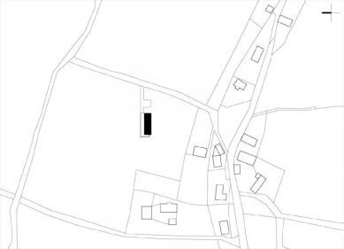 Dům na louce - Situace - foto: ARCHTEAM