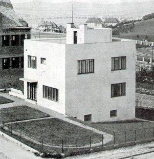 Rodinný dům prof. Dr. J. Kudely - foto: archiv redakce