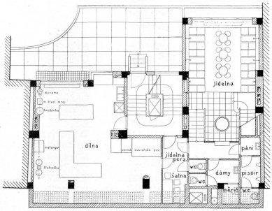 Nájemný dům s cukrárnou B. Kolbaby - Půdorys podzemí - foto: archiv redakce