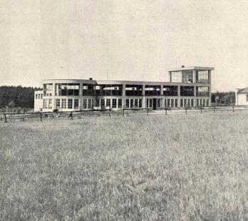 Nádraží letiště v Mariánských Lázních - foto: archiv redakce