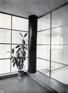 Sanatorium MUDr. V. Šilhana - Vstupní vestibul - foto: archiv redakce