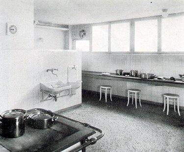Sanatorium MUDr. V. Šilhana - Kuchyně - foto: archiv redakce