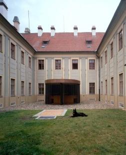 Rekonstrukce bývalého Ústavu šlechtičen - foto: archiv DaM