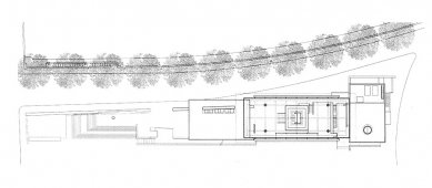 Museo dell'Ara Pacis - Půdorys střechy - foto: © Richard Meier & Partners Architects LLP
