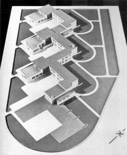 Pavilonové školy Přerov - Návrh: model - foto: archiv redakce