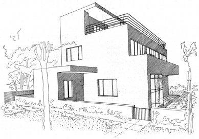Návrh rodinného domu PhMr. R. Svobody - foto: archiv redakce