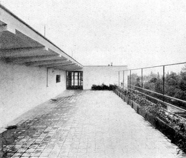 Masarykova kolonie bankovních úředníků v Košičích - Terasa - foto: archiv redakce