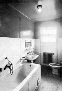 Masarykova kolonie bankovních úředníků v Košičích - Koupelna - foto: archiv redakce