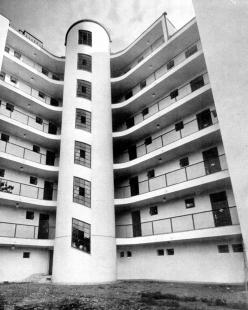 Obytný dům s malými byty družstva Freundschaft - foto: archiv redakce