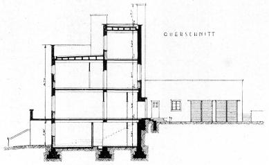 Vila Münz - Řez - foto: archiv redakce