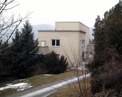 Vila Münz - Současný stav - foto: © archiweb.cz, 2003