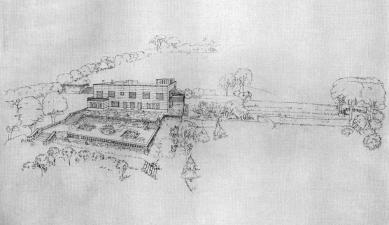 Vila Stiassny - Původní návrh