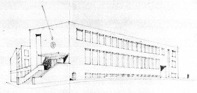 Návrh poštovního a telegrafního úřadu - foto: archiv redakce