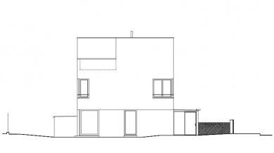 Bytový dům V Zálesí v Praze 5 - Pohled jižní - foto: © hnilička — císler — architekti