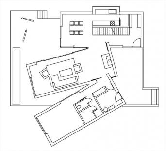 Rodinný dům v Horní Lhotě - 1NP - foto: ATX architekti