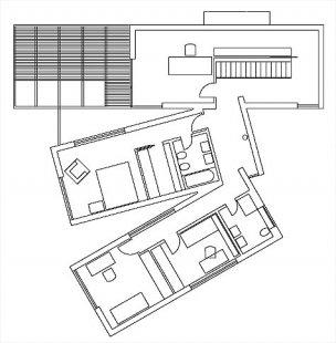 Rodinný dům v Horní Lhotě - 2NP - foto: ATX architekti