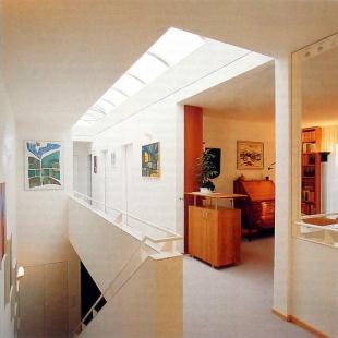 Rodinný dům v Münchensteinu - Vstupní trakt - foto: © Jura Oplatek Architekt VUT/ SIA