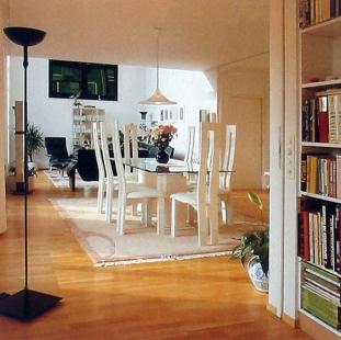 Rodinný dům v Münchensteinu - Obytný trakt - foto: © Jura Oplatek Architekt VUT/ SIA