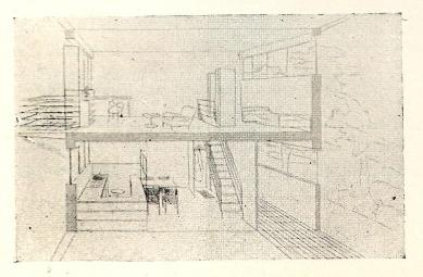 Soutěž na obecní domy s malými byty - Perspektiva bytu - foto: archiv redakce