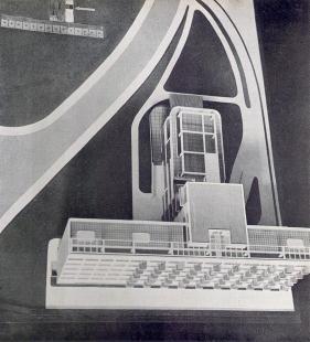 Lázeňský dům zvaný Machnáč - Model - foto: archiv redakce