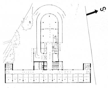 Lázeňský dům zvaný Machnáč - Půdorys přízemí - foto: archiv redakce