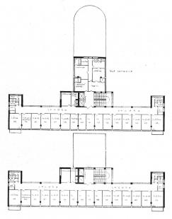 Lázeňský dům zvaný Machnáč - Půdorysy horních pater - foto: archiv redakce