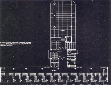 Lázeňský dům zvaný Machnáč - Půdorys - foto: archiv redakce