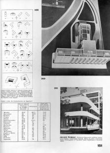 Lázeňský dům zvaný Machnáč - Strana z časopisu Stavitel - foto: archiv redakce