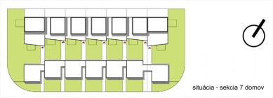 Obytný komplex Slanec - Situace - foto: VSArchitects