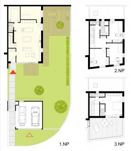 Obytný komplex Slanec - Rohový dom - foto: VSArchitects