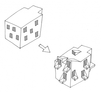 Social Housing Polje - Koncept - foto: bevk perović arhitekti