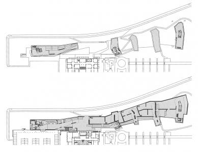 Nelson-Atkins Museum of Art - Půdorysy - foto: © Steven Holl Architects, New York
