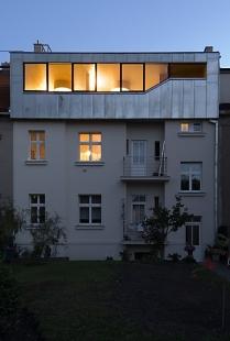 Střešní nástavba, Praha Malvazinky - foto: Ester Havlová