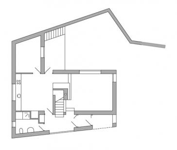 Rodinný dům v Dobřejovicích - 1NP - foto: atelier K2