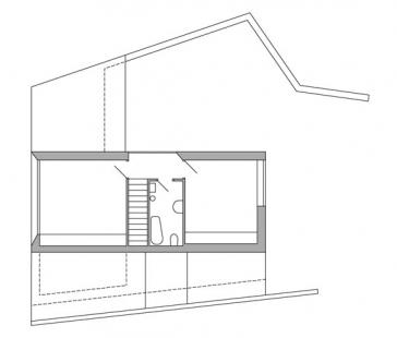 Rodinný dům v Dobřejovicích - 2NP - foto: atelier K2