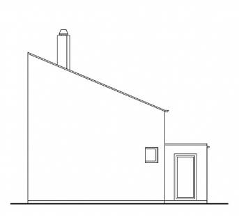 Rodinný dům v Poříčí nad Sázavou - Severní pohled - foto: New Work