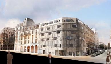 Hôtel Fouquet's Barrière - Vizualizace - foto: © edouard françois architect