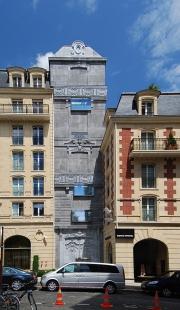 Hôtel Fouquet's Barrière - foto: © Martin Rosa - archiweb.cz, 2007