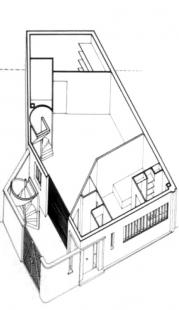 Maison et atelier Ozenfant - Axonometrie přízemí