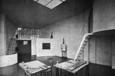 Maison et atelier Ozenfant - Historický snímek - ateliér