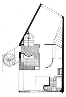 Maison et atelier Ozenfant - Půdorys přízemí