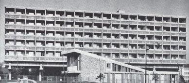 Maison du Brésil - Historický snímek východní fasády.