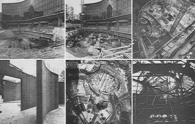 Sídlo francouzské komunistické strany  - Dobové fotografie ze stavby