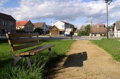 Úpravy centra obce Dolní Město - foto: Josef Čančík