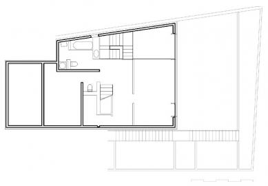 Vila Pod Děvínem - 1PP - foto: 4A architekti