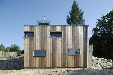 Dům ve svahu - foto: Aleš Jungmann