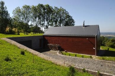 Dům na Ještědském hřebeni - foto: Aleš Jungmann