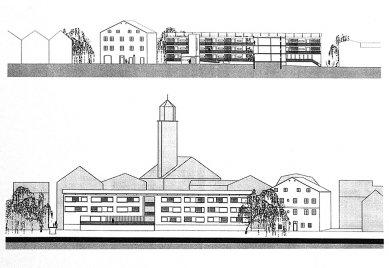 Housing for the Eldely in Eichstätt - Pohledy - foto: © Architekturbüro Huber